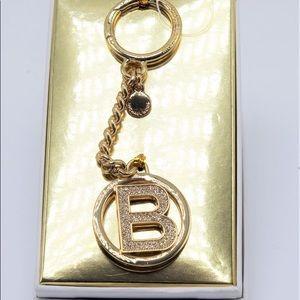 Michael kors intial B Keychain